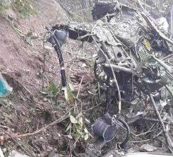 ভুটানে ভারতীয় সেনাবাহিনীর হেলিকপ্টার বিধ্বস্ত