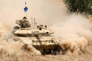 চীন সীমান্তে ভারতীয় সেনাবাহিনীর যুদ্ধ মহড়া শুরু