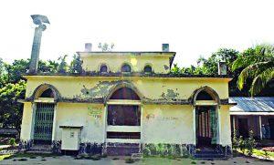 লালমনিরহাটের ঐতিহাসিক 'সাহাবা মসজিদ' পুনঃনির্মিত হচ্ছে
