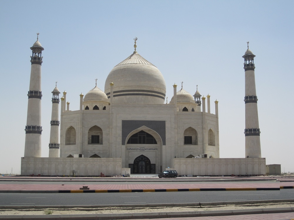 কুয়েতে তাজমহলের আদলে দৃষ্টিনন্দন মসজিদ