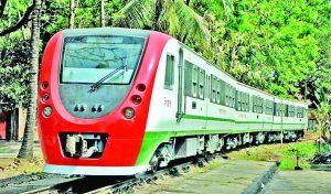 চট্টগ্রাম-দোহাজারী রেলপথে নতুন ডেমু ট্রেন উদ্বোধন